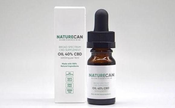 NaturecanのCBDオイル濃度40%